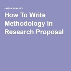 Books on research proposal writing